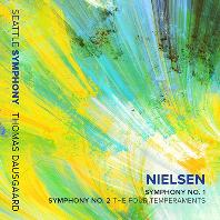 "SYMPHONY NO.1 & NO.2 ""THE FOUR TEMPERAMENTS""/ THOMAS DAUSGAARD [닐센: 교향곡 1, 2번(네 가지 기질) - 토마스 다우스고르]"