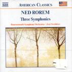 Three Symphonies/ Jose Serebrier (American Classics)