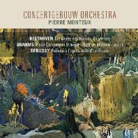 ORCHESTRAL WORKS/ PIERRE MONTEUX [베토벤: 헌당식 서곡, 브람스: 바이올린 협주곡, 드뷔시: 목신의 오후에의 전주곡 외 - 몽퇴]