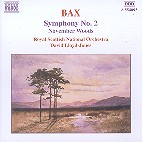 ARNOLD BAX - SYMPHONY NO2/ NOVEMBER WOODS