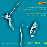 SUITE IN B FLAT MAJOR & CELLO CONCERTO/ CARLOS KLEIBER