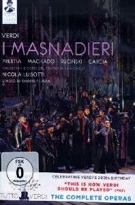 I MASNADIERI/ NICOLA LUISOTTI [베르디: 도둑떼] [TUTTO VERDI 11]