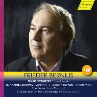 CHORAL WORKS, QUARTETS, NELSON MASS/ FRIEDER BERNIUS [슈베르트, 브람스, 하이든: 합창 음악 - 프리더 베르니우스]