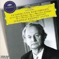 PIANO SONATAS: PATHETIQUE, MOONLIGHT, WALDSTEIN/ WILHELM KEMPFF [THE ORIGINALS] [빌헬름 켐프: 베토벤 피아노 소나타 - 비창, 열정, 월광, 발트스타인]