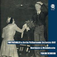 SYMPHONY NO.5 & 6, VIOLIN CONCERTO/ YEHUDI MENUHIN, WILHELM FURTWANGLER [베토벤: 교향곡 5 & 6번, 바이올린 협주곡 - 푸르트뱅글러]