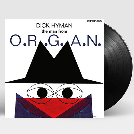 THE MAN FROM O.R.G.A.N. [LP]