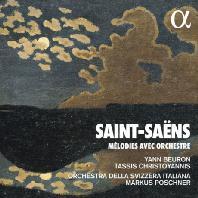 MELODIES AVEC ORCHESTRE/ YANN BEURON, MARKUS POSCHNER [생상스: 오케스트라와 함께 하는 가곡집]