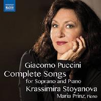 COMPLETE SONGS FOR SOPRANO & PIANO/ KRASSIMIRA STOYANOVA, MARIA PRINZ [푸치니: 가곡(전집)]