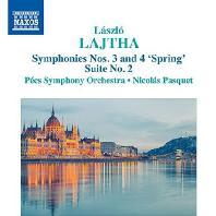 SYMPHONIES NOS.3 & 4 'SPRING', SUITE NO.2 / NICOLAS PASQUET [라이타: 교향곡 3, 4번 & 조곡 2번]
