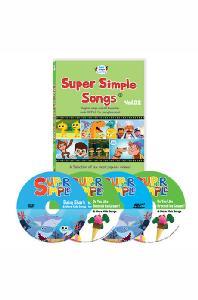 슈퍼심플송 2집 4종세트 [DVD+MP3CD(전곡수록)] [SUPER SIMPLE SONGS]