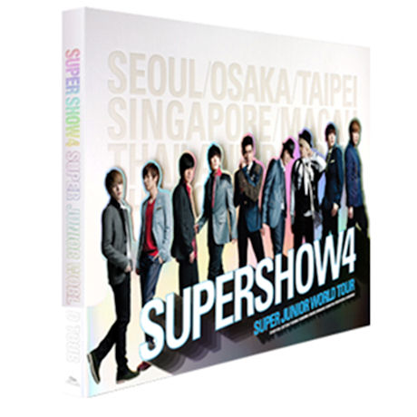 SUPER JUNIOR(슈퍼주니어) - SUPER SHOW 4 [슈퍼쇼 4 월드투어 콘서트 포토북]