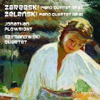 PIANO QUARTET OP.61 & PIANO QUINTET OP.34/ JONATHAN PLOWRIGHT, SZYMANOWSKI QUARTET