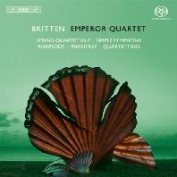 SIMPLE SYMPHONY & STRING QUARTET/ EMPEROR QUARTET [SACD HYBRID] [브리튼: 단순 교향곡 & 현악 사중주, 랩소디, 환상곡]