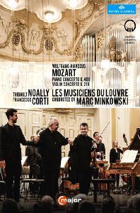 PIANO & VIOLIN CONCERTO/ THIBAULT NOALLY, FRANCESCO CORTI, MARC MINKOWSKI [2015 잘츠부르크 모차르트 협주곡의 정수]