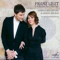 2 SONATAS FOR P2 PIANOS/ LUDMILA BERLINSKAYA, ARTHUR ANCELLE [리스트 & 생상스: 2대의 피아노를 위한 작품집]