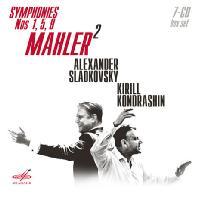 MAHLER 2: SYMPHONIES NOS,1, 5, 9/ ALEXANDER SLADKOVSKY, KIRILL KONDRASHIN [말러: 2인의 러시안 지휘자 - 슬라드코프스키 & 콘드라신]