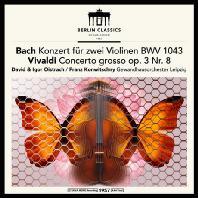 CONCERTOS FOR 2 VIOLIN/ DAVID OISTRAKH, IGOR OISTRAKH, FRANZ KONWITSCHNY [바흐 & 비발디: 두 대의 바이올린을 위한 협주곡 & 프랑크: 바이올린 소나타 - 오이스트라흐 부자]