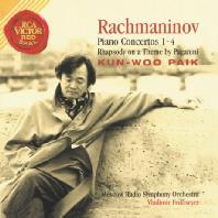 백건우(KUN-WOO PAIK) - RACHMANINOV PIANO CONCERTOS 1-4  RHAPSODY ON A THEME BY PAGANINI/ VLADIMIR FEDOSEYEV [라흐마니노프: 피아노 협주곡 1-4 외] [20주년 기념 재발매]