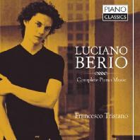 COMPLETE PIANO MUSIC/ FRANCESCO TRISTANO