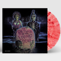 THE RETURN OF THE LIVING DEAD [CLEAR W/BLOOD RED SPLATTER LP] [바탈리언] [한정반]