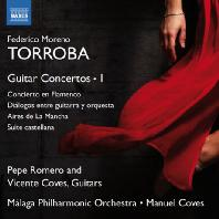 GUITAR CONCERTOS/ PEPE ROMERO, VINCENTE COVES, MANUEL COVES [모레노-토로바: 플라멩코 협주곡, 기타와 관현악의 대화 외]