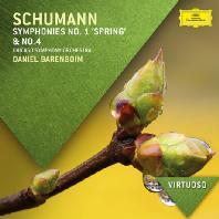 SYMPHONIES NOS.1 'SPRING' & NO.4/ DANIEL BARENBOIM [VIRTUOSO] [슈만: 교향곡 1번 '봄' & 4번]
