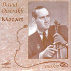 OISTRAKH PLAYS MOZART