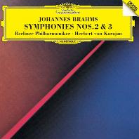 SYMPHONIES NO.2 & 3/ HERBERT VON KARAJAN [UHQCD] [브람스: 교향곡 2, 3번 - 카라얀]