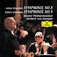 SYMPHONY NO.8 & NO.4/ HERBERT VON KARAJAN [UHQCD] [브루크너: 교향곡 8번 & 슈만: 교향곡 4번 - 카라얀]