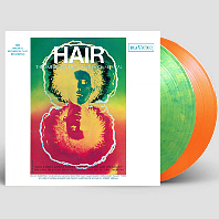 HAIR: ORIGINAL BROADWAY CAST [뮤지컬 헤어] [ORANGE & YELLOW SWIRLED] [180G LP]