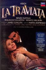 LA TRAVIATA/ JAMES CONLON [베르디 라트라비아타/ 플레밍, 빌라존/ 콘론]