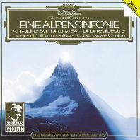 EINE ALPENSINFONIE/ HERBERT VON KARAJAN [KARAJAN GOLD] [리하르트 슈트라우스: 알프스 교향곡 - 카라얀]