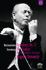 SYMPHONY NO.2 & THE FIRBIRD/ <!HS>EUGENE<!HE> ORMANDY [라흐마니노프 교향곡 2번, 스트라빈스키 불새 모음곡]