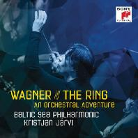 THE RING: AN ORCHESTRAL ADVENTURE/ KRISTJAN JARVI [바그너: 반지 - 크리스티안 예르비]