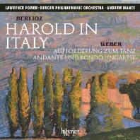 HAROLD IN ITALY & AUFFORDERUNG ZUM TANZ/ ANDREW MANZE [베를리오즈: 이탈리아의 해롤드 & 베버: 무도에의 권유 - 파워, 맨지]