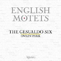 ENGLISH MOTETS/ THE GESUALDO SIX [잉글리시 모테트 - 제수알도 식스]