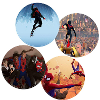 SPIDER-MAN: INTO THE SPIDER-VERSE [ORIGINAL SCORE] [스파이더맨: 뉴 유니버스 - 스코어] [PICTURE DISC LP]
