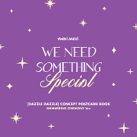 DIGITAL SINGLE `DAZZLE DAZZLE` OFFICIAL MD [CONCEPT POSTCARD BOOK] [SHIMMERING CEREMONY]