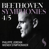 SYMPHONIES 4 & 5/ PHILIPPE JORDAN [베토벤: 교향곡 4, 5번 - 필리프 조르당]