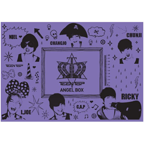 TEENTOP ANGEL BOX [화보집+DVD]