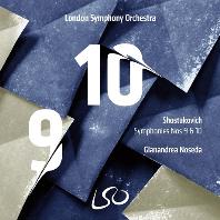 SYMPHONIES NOS.9 & 10/ GIANANDREA NOSEDA [SACD HYBRID] [쇼스타코비치: 9, 10번 교향곡 - 노세다]