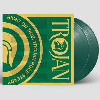 RIGHT ON TIME: TROJAN ROCK STEADY [180G GREEN LP]