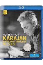 SYMPHONIES NO.5 & 9/ HERBERT VON KARAJAN [베토벤: 교향곡 5 & 9번 '합창']