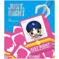 JR.(주니어) JUST RIGHT: USB 피규어앨범 [스페셜 한정반 2]
