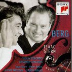 ALBAN BERG - VIOLINCONCERTO/ CHAMBER CONCERTO/ A LIFE IN MUSIC/ ISAAC STERN