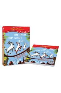 스콜라스틱 LEVEL 03 [DVD+BOOK] [SCHOLASTIC: THE THREE BILLY GOATS GRUFF]