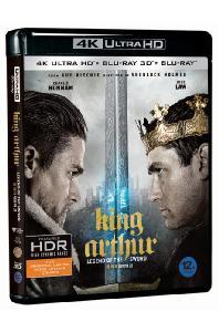 킹 아서: 제왕의 검 3D+2D [4K UHD] [한정판] [KING ARTHUR: LEGEND OF THE SWORD]