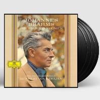 THE FOUR SYMPHONIES/ HERBERT VON KARAJAN [180G LP] [브람스: 교향곡 전곡 60년대녹음 - 카라얀] [한정반]