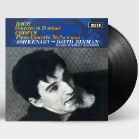 PIANO CONCERTOS/ VLADIMIR ASHKENAZY, DAVID ZINMAN [180G LP] [바흐: 피아노 협주곡 1번 & 쇼팽: 피아노 협주곡 2번 - 아쉬케나지 & 진먼]
