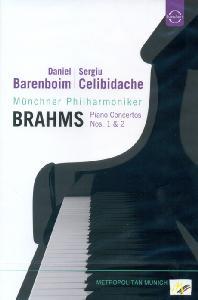PIANO CONCERTOS NOS.1 & 2/ DANIEL BARENBOIM, <!HS>SERGIU<!HE> CELIBIDACHE